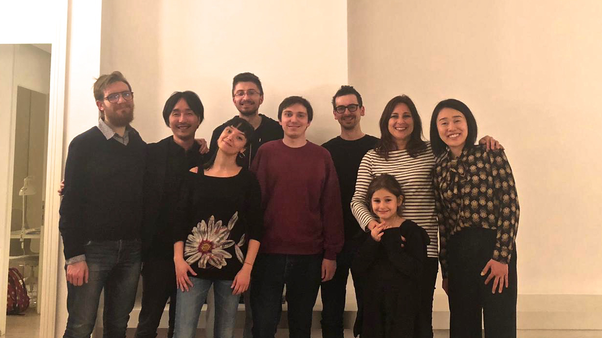 Stefan Peeters - Seiji Kajita - Giulio Fatti and Arianna - Gabriele Losi - Michael Wolloch - Clelia Righi and Lilli - Mami Kajita